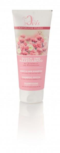 Dusch- u. Haarshampoo Wildrosenduft