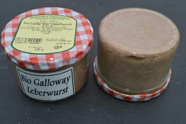Bio-Galloway Leberwurst