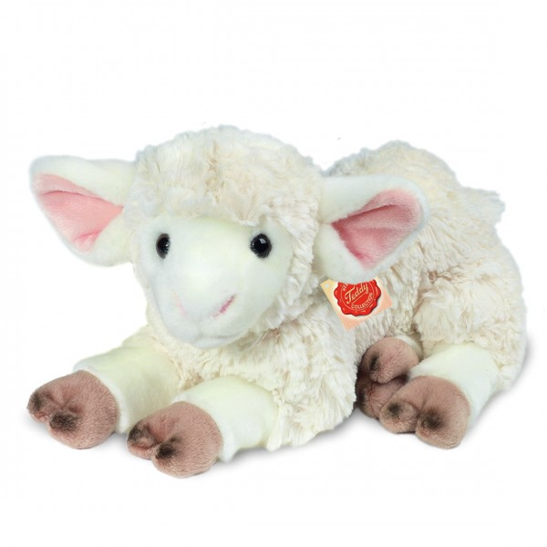 Schmusetier Lamm, liegend