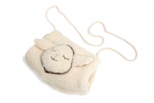 Muff für Kinder mit Schafapplikation