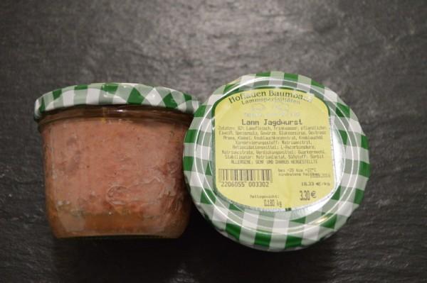Jagdwurst vom Lamm
