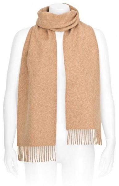 Schal aus Kaschmir & Schafschurwolle, Farbe: Camel
