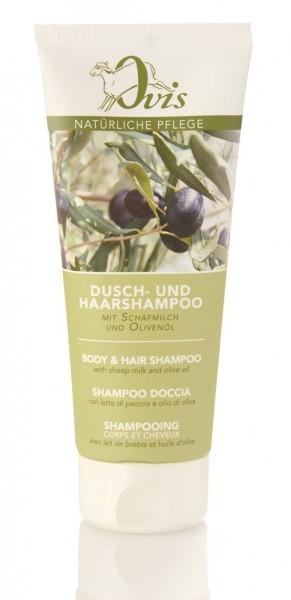 Dusch- u. Haarshampoo Olive