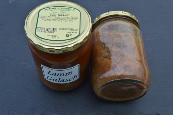Lamm-Gulasch