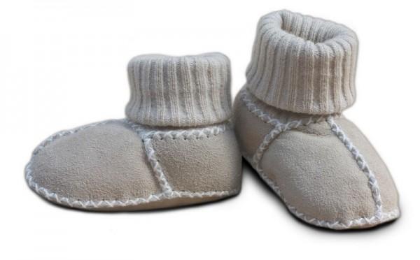 Baby-Lammfellschuhe, Farbe: Sand